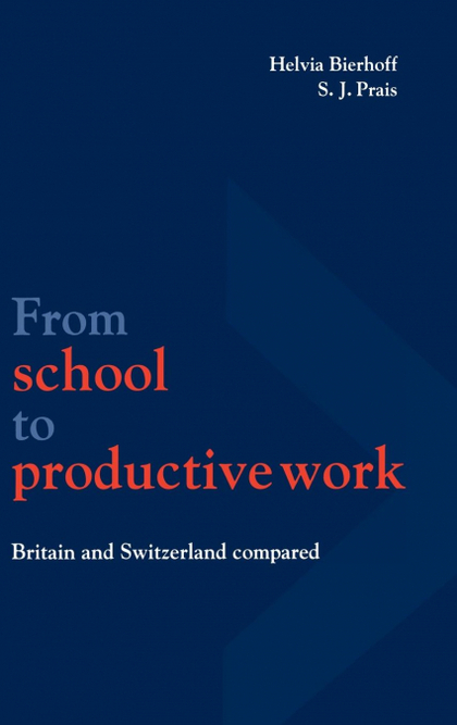 FROM SCHOOL TO PRODUCTIVE WORK