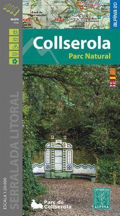 COLLSEROLA PARC NATURAL (CARPETA CON 1 MAPA).