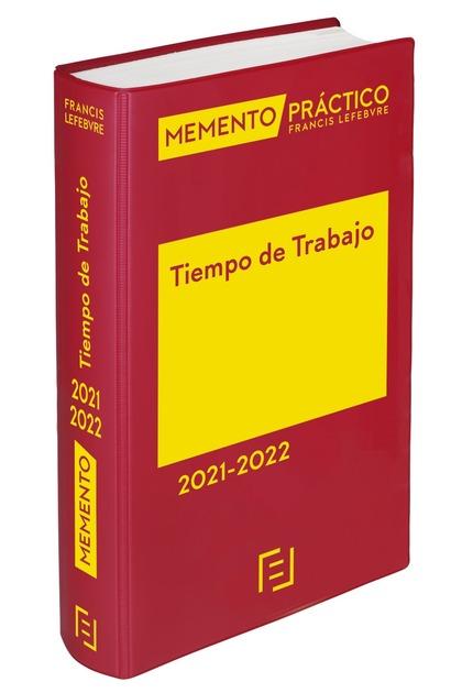 MEMENTO TIEMPO DE TRABAJO 2021-2022.