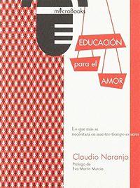 EDUCACIÓN PARA EL AMOR.