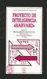 PROYECTO DE INTELIGENCIA HARVARD.SERIE VI