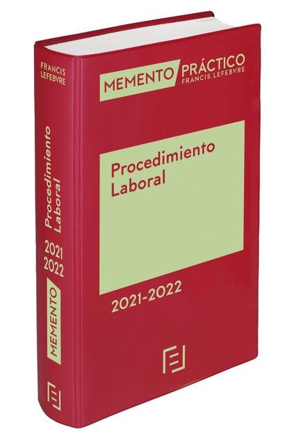 MEMENTO PROCEDIMIENTO LABORAL  2021-2022.