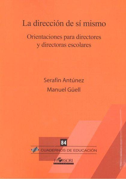 DIRECCION DE SI MISMO ORIENTACION PARA DIRECTORES Y DIRECTO