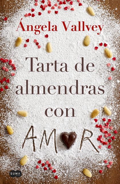 TARTA DE ALMENDRAS CON AMOR.