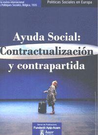 AYUDA SOCIAL CONTRACTUALIZACION Y CONTRAPARTIDA