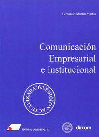 COMUNICACIÓN EMPRESARIAL E INSTITUCIONAL