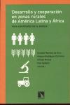 DESARROLLO RURAL: RURALIDAD, DESARROLLO Y COOPERACIÓN AMÉRICA LATINA Y