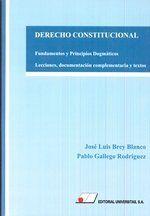 DERECHO CONSTITUCIONAL. FUNDAMENTOS Y PRINCIPIOS DOGMÁTICOS.. LECCIONES, DOCUMENTACIÓN COMPLEME