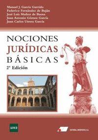 NOCIONES JURIDICAS BASICAS.