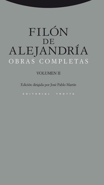 OBRAS COMPLETAS DE FILON DE ALEJANDRIA VOL.2