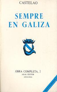 CASTELAO. OBRA COMPLETA. TOMO 2. SEMPRE EN GALIZA