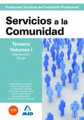 CUERPO DE PROFESORES TÉCNICOS DE FORMACIÓN PROFESIONAL. SERVICIOS A LA COMUNIDAD.