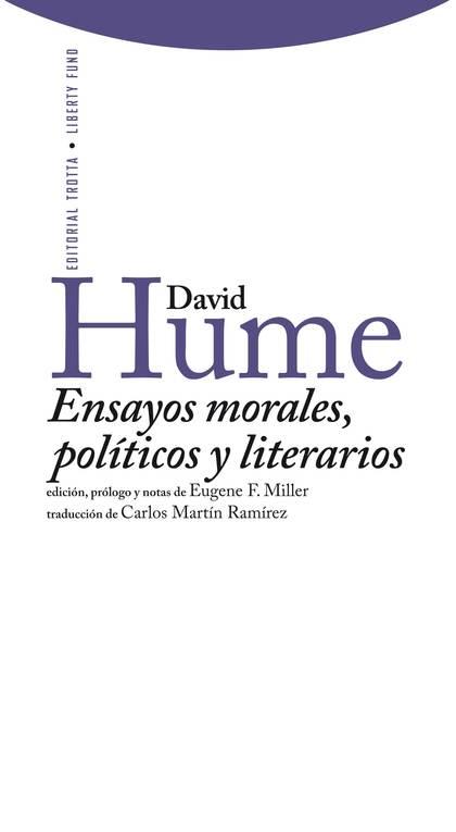 ENSAYOS MORALES, POLÍTICOS Y LITERARIOS