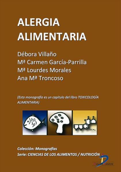 ALERGIA ALIMENTARIA : TOXICOLOGÍA ALIMENTARIA