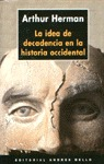 IDEA DECADENCIA HISTORIA OCCIDENTAL