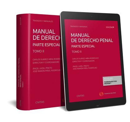 MANUAL DE DERECHO PENAL. TOMO II. PARTE ESPECIAL (DÚO).