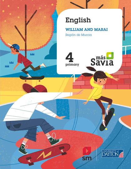 ENGLISH FOR PLURILINGUAL SCHOOLS.  4. PRIMARY. MÁS SAVIA. MURCIA.