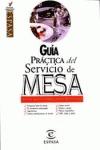 GUIA PRACTICA SERVICIO DE MESAS