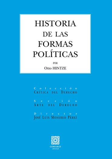 HISTORIA DE LAS FORMAS POLÍTICAS.
