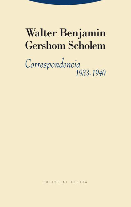 CORRESPONDENCIA, 1933-1940