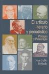EL ARTÍCULO LITERARIO Y PERIODÍSTICO: PAISAJES Y PERSONAJES