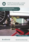 Posicionado y control de la estructura en bancada. TMVL0309