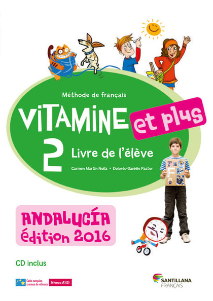 VITAMINE ET PLUS 2 ELEVE+CD ANDALUCIA.