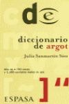 DICCIONARIO DE ARGOT