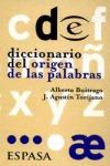 DICCIONARIO ORIGEN DE LAS PALABRAS