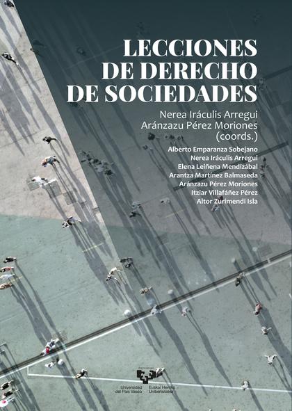 LECCIONES DE DERECHO DE SOCIEDADES