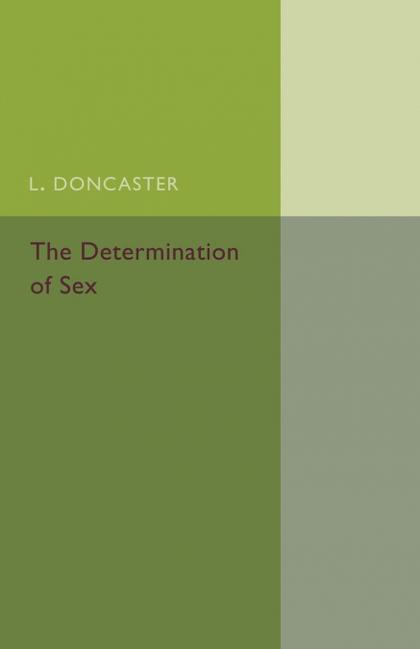 DETERMINATION OF SEX