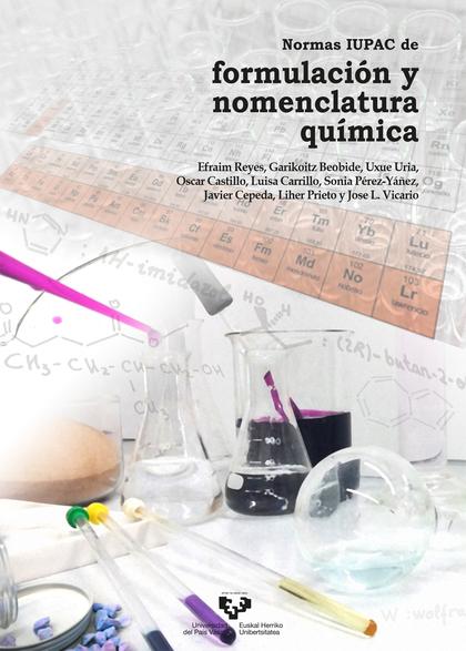 NORMAS IUPAC DE FORMULACIÓN Y NOMENCLATURA QUÍMICA