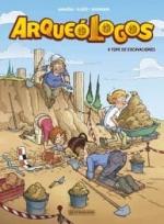 ARQUEOLOGOS #1. A TOPE DE EXCAVACIONES