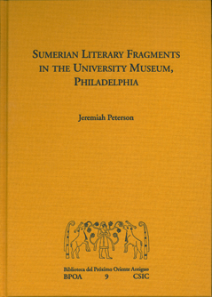 SUMERIAN LITERARY FRAGMENTS IN THE UNIVERSITY MUSEUM, PHILADELPHIA