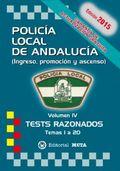 TESTS VOL. 4 POLICÍA LOCAL DE ANDALUCÍA 2015.