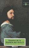 FUENTES HISTORIA ARTE II CONOCER ARTE