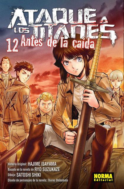 ATAQUE A LOS TITANES 12. ANTES DE LA CAÍDA