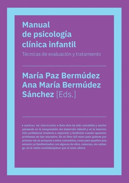 MANUAL DE PSICOLOGÍA CLÍNICA INFANTIL (NE)