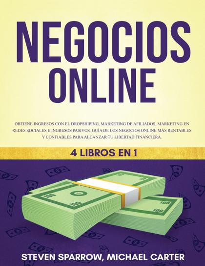NEGOCIOS ONLINE 4 LIBROS EN 1