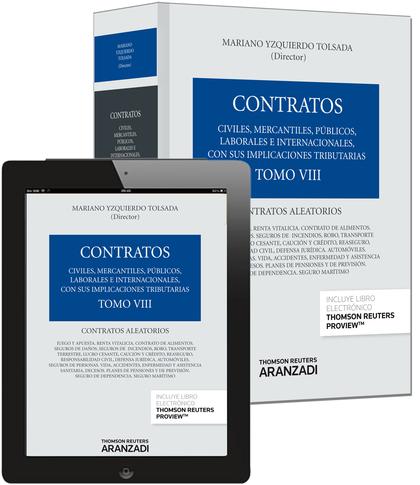 TOMO VIII. CONTRATOS ALEATORIOS (PAPEL + E-BOOK).