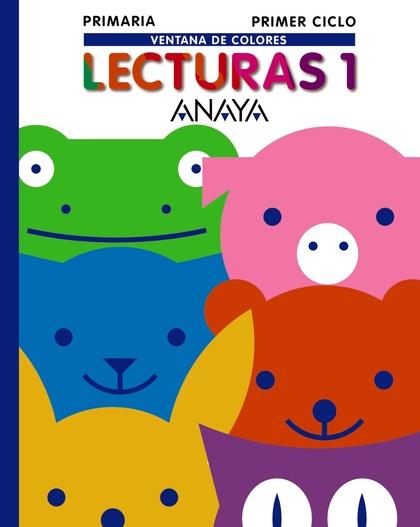 VENTANA DE COLORES, LECTURAS, 1º EDUCACIÓN PRIMARIA, 1ER CICLO