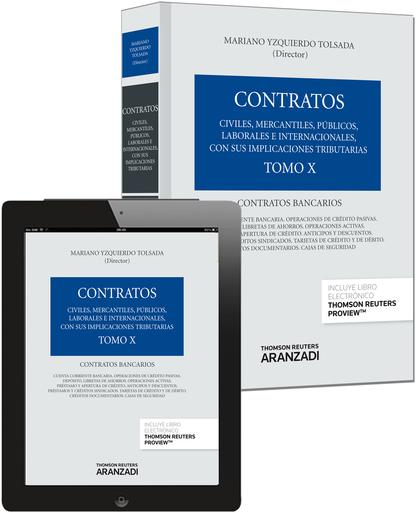 TOMO X. CONTRATOS BANCARIOS (PAPEL + E-BOOK).
