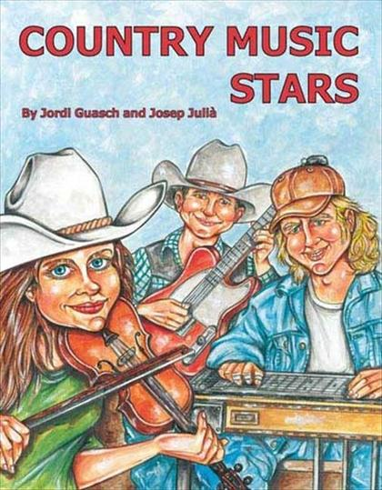 THE BEST BOOK OF COUNTRY MUSIC STARS