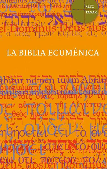 LA BIBLIA ECÚMENICA.