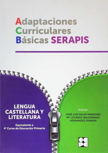 ADAPTACIONES CURRICULARES BASICAS SERAPIS LENGUA 4ºEP.