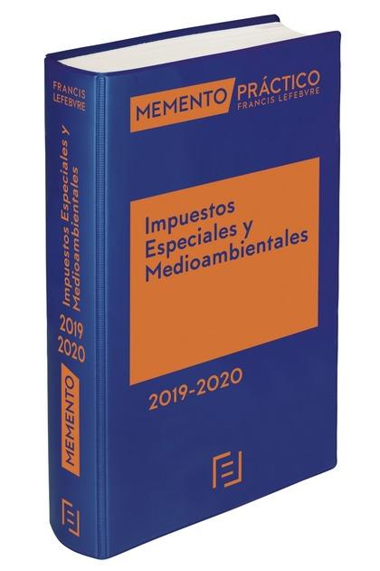 MEMENTO IMPUESTOS ESPECIALES Y MEDIOAMBIENTALES 2019-2020.