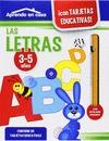 APRENDO EN CASA LAS LETRAS, EDUCACIÓN INFANTIL, 3-5 AÑOS