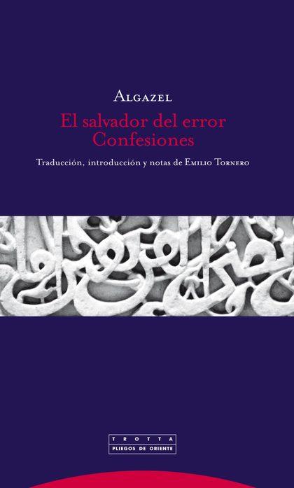 EL SALVADOR DEL ERROR : CONFESIONES