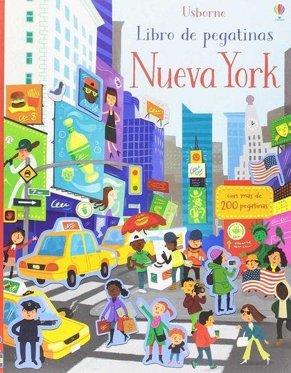 MI PRIMER LIBRO PEGATINAS NUEVA YORK.