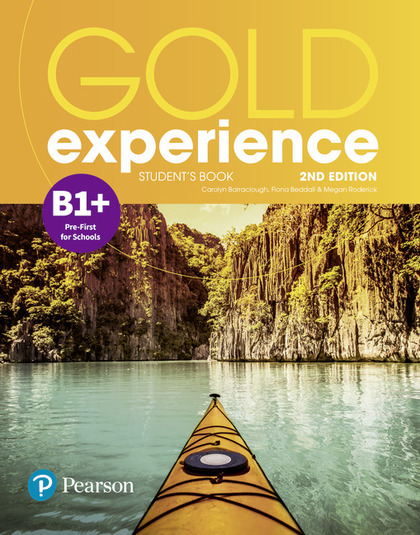 GOLD EXPERIENCE 2ND EDITION B1+ STUDENT´S BOOK